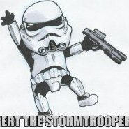Bert The Stormtrooper