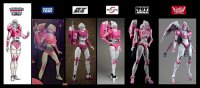 Takara TOMY MP-5 Arcee Comparions Images With Ocular Max, Fanstoys, ToyWorld, Big Firebird Toys (2).jpg